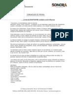 05/01/18 Recomienda ISSSTESON cuidados ante Influenza -C.011815