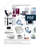 What is Medical Equipment and Types of Medical Equipment