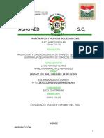 Medicos y AGRONOMOS S.a de C.v Proyectos Cerdos I