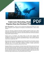 Underwater Restocking