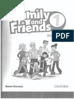 Fam Friends 1 Workbook