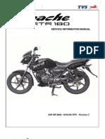 TVS Apache RTR 180 -Service Manual