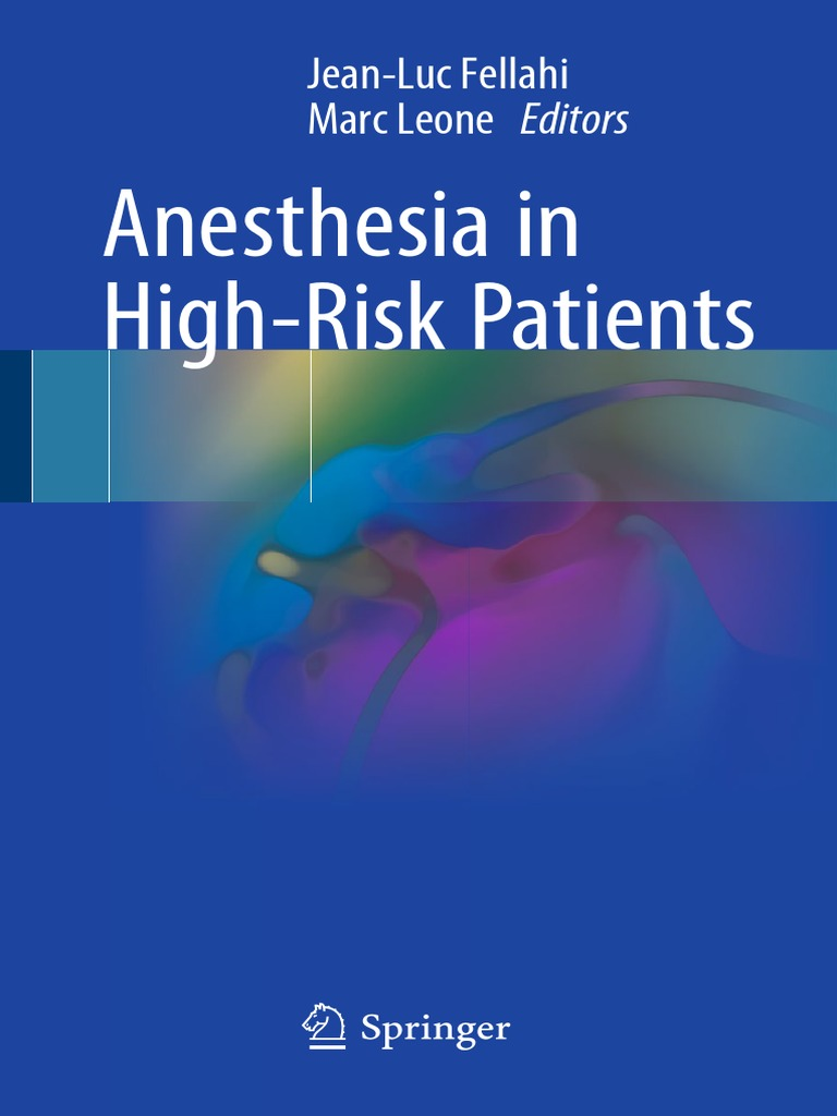 Anesthesia In High Risk Patientspdf Percutaneous Coronary