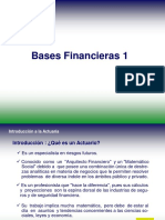 Bases Financieras de la Actuaría 1