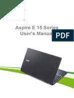 ACER Aspire E 15 Series