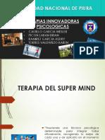 Terapias Innovadoras de La Psicologia