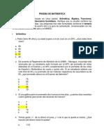 Examen Matematica2014,UNAN