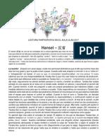 Lectura Hansei - Analisis Critico