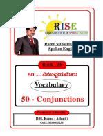 58.  Conjunctions.
