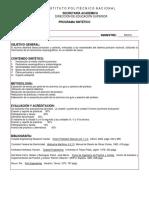 Programa Sintetico - Puertos ESIA IPN