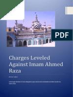 Charges Leveled Against Imam Ahmed Raza