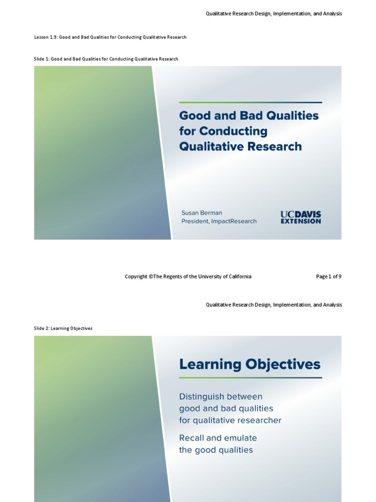 reasons for conducting qualitative research