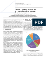 Hybrid Solar Lighting System