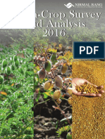 Chan a Crop Survey and Analysis 2016