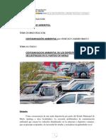 Contaminacion Ambiental Por Vehiculos Abandonados