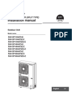 Installation Manual VRF