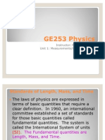 GE253 Unit 1 Lecture Slides