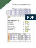 Steel Pile API(LRFD)-Primary Design