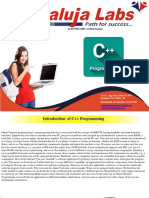 C++ programming cousre in janak puri, New Delhi