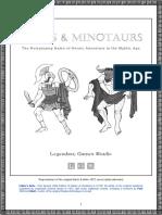 Mazes & Minotaurs 1e - Corebook