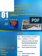 PPT Perancangan Sistem Keandalan Dan Pemeliharaan [TM1]