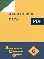AZEOTROPIC DATA (Advances in Chemistry Volume 6).pdf