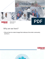 Winter City Strategy - City of Fort St. John, Jan. 22, 2018