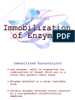4_Immobilization of Enzymes
