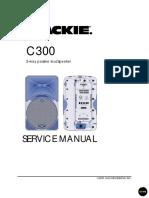 Mackie c300 Passiv Speaker