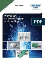 WAVIN PILSA PPR TECHNICAL MANUAL - March 2016.pdf