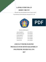 Laporan Praktikum STL II Shot Circuit