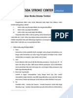 Faktor Risiko Stroke Terkini