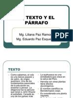 El Prrafo y El Texto