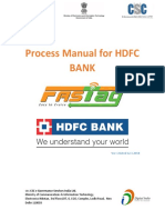 1-HDFC Fastag Order Process Manual