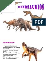 Dinosaurios y Caracteristias