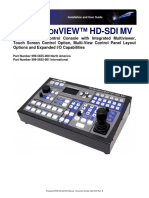 Revb Productionview Hd Sdi Mv Manual