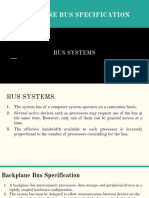 Bus Systems