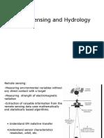 Remote Sensing Hydrology