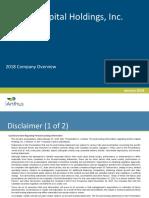 IAnthus Investor Presentation (Post-Announcement) - Jan 2018 - V03