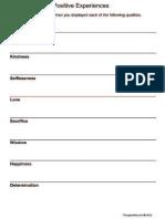 Lista de Experiências Positivas Em Inglês1.PDF
