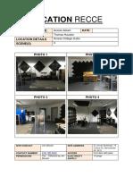 Recording Studio of Location Recce Access