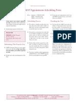 GMAT Bulletin 2010 Scheduling FORMS FINAL