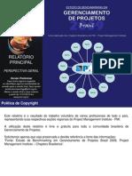 Relatório Final do Estudo de Benchmarking em GP 2009 - Perspectiva Geral (Versão Preliminar)