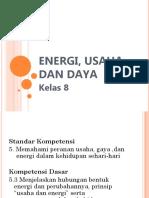 Energi Usaha Dan Daya