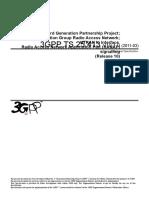 25413-A10 - UTRAN Iu Interface Radio Access Network Application Part (RANAP) Signalling