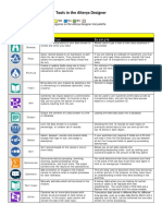 Alteryx Designer Tools Sheet 0