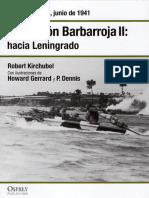 07 - Operacion Barbarroja II Hacia Leningrado Rusia Junio de 1941