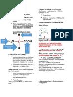 Amino Acids- Handouts