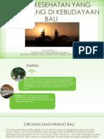Mitos Kesehatan Yang Berkembang Di Kebudayaan Bali Dan Fakta-1