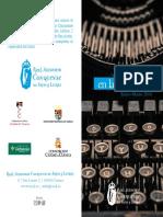 """Programa """"los Martes en la Acdemia"""" Enero - Marzo  2018"""